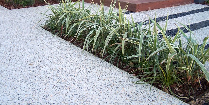 Exposed aggregate surface Perth