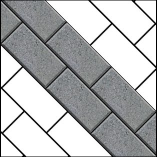 45-degree-bond-paving pattern