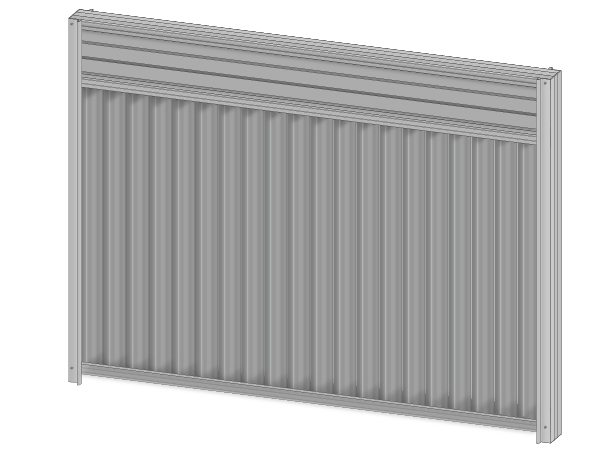 Colorbond fence extension slats