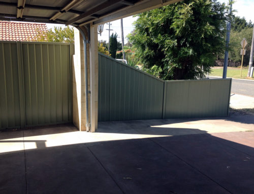 Fencing on boundaries/ common fencing between neighbours
