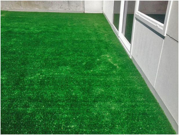 Commercial artificial grass Installation artificial turf