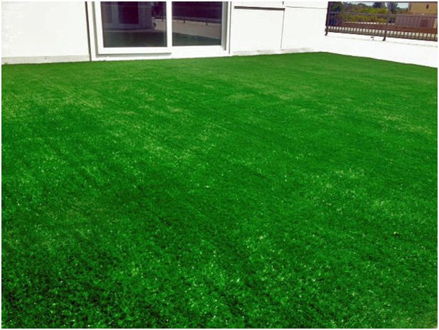 Commercial Artificial Grass installation Perth rooftop