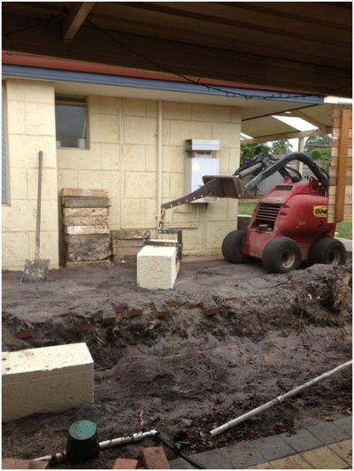 dingo attachment for limestone blocks Perth