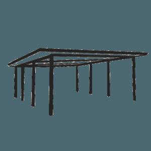 Flat or Skillion patio