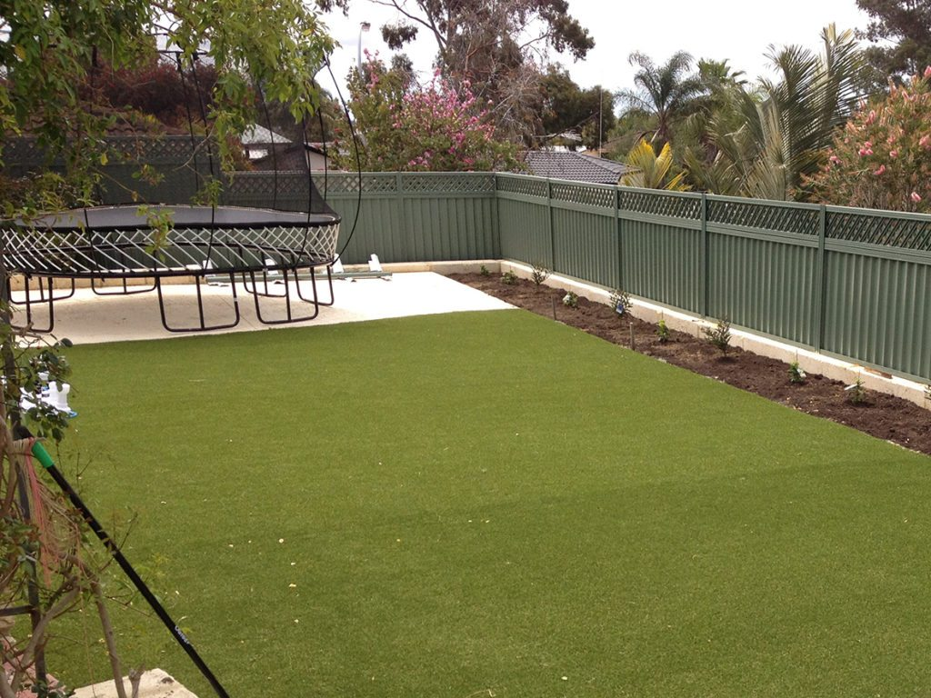 artificial grass installed 2