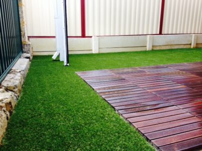 artificial grass installed perth