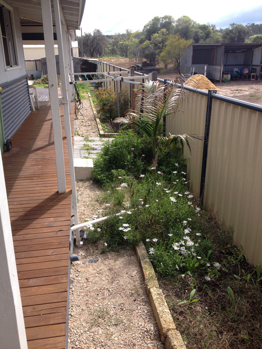 reconstituted limestone block garden edging
