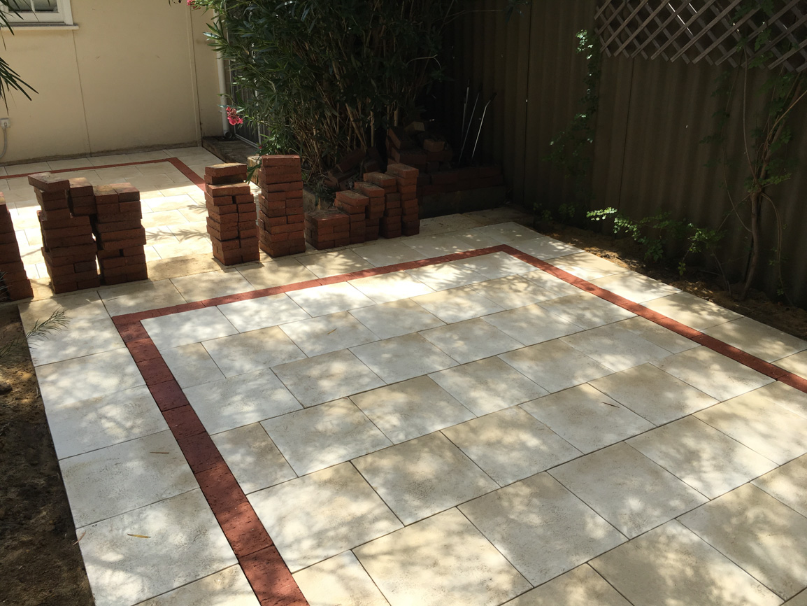 paving liquid limestone retaining ideas