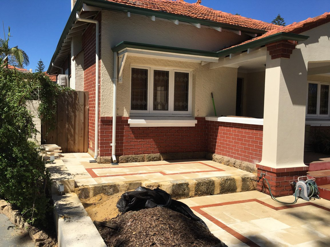 paving perth and retaining