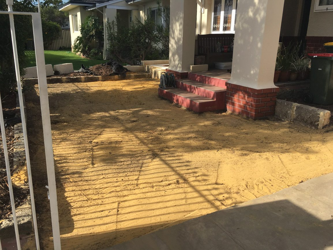 brick paving swanbourne