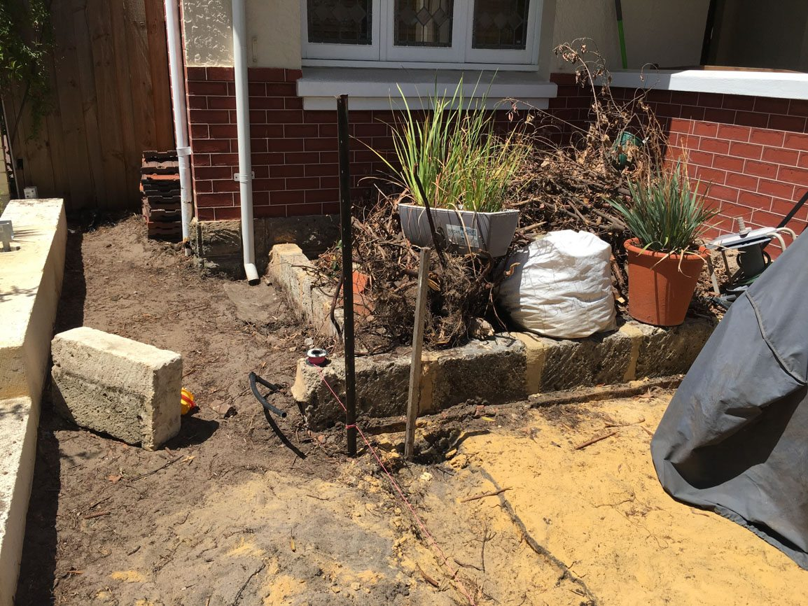 retaining walls swanbourne