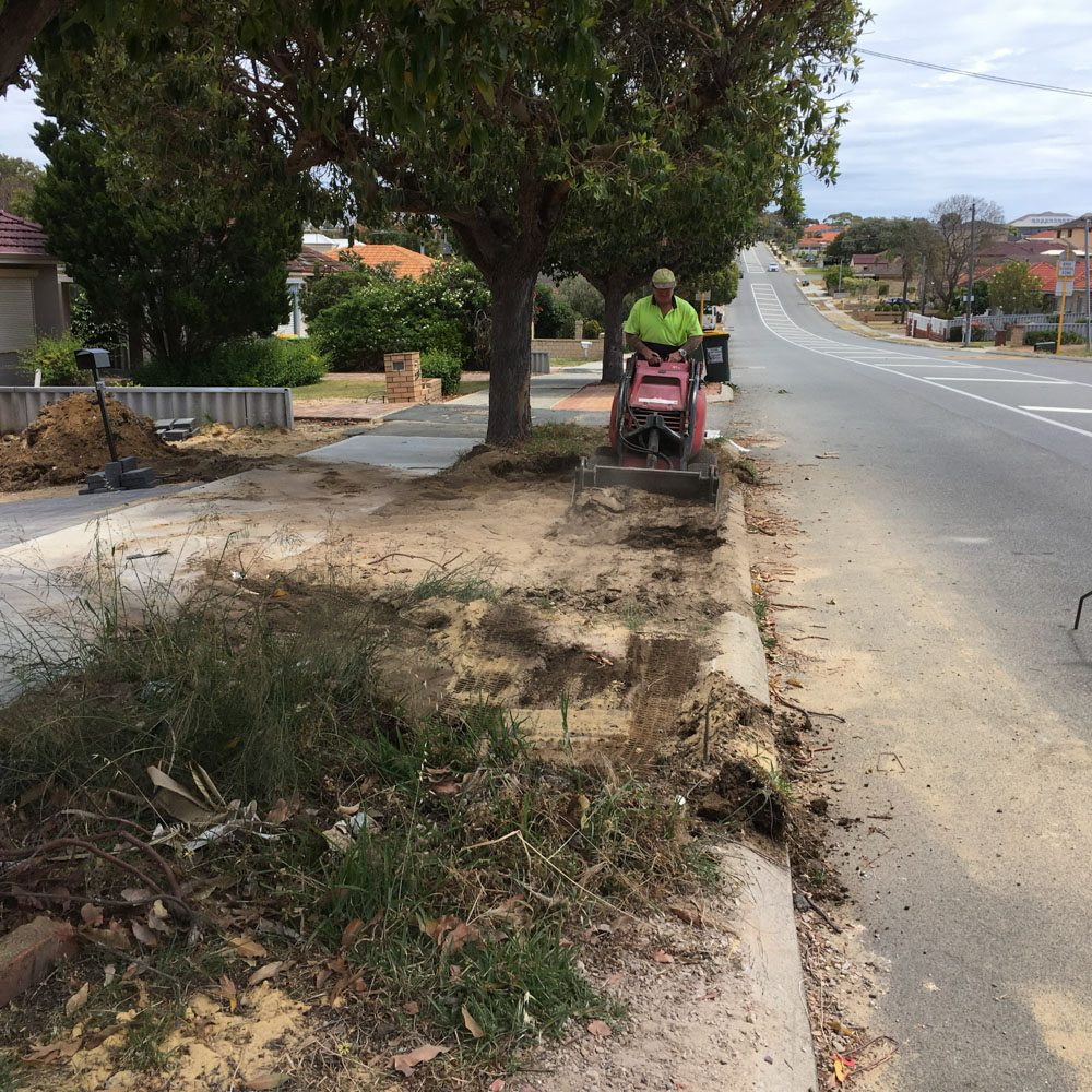 concrete council vehicle crossover contractors tuart hill
