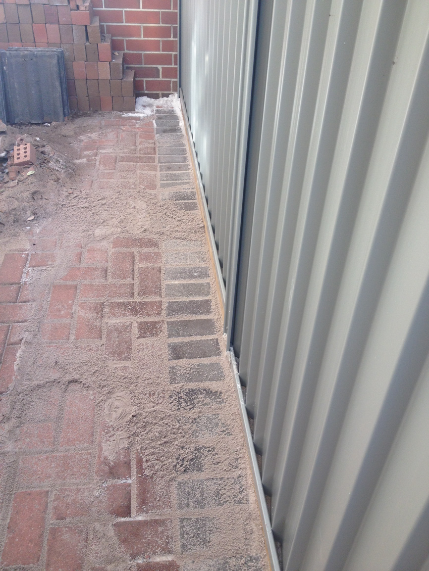 brick paving contractors and installers Perth- after