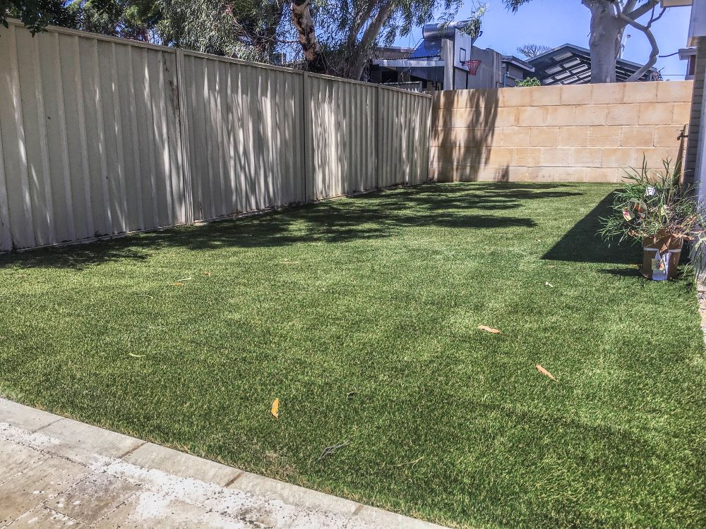 artificial grass perth installed