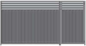 Colorbond Fence Louvre Height Extension Panels 600mm H Building Materials Gumtree Australia Bla Privacy Fence Designs Privacy Screen Outdoor Fence Design