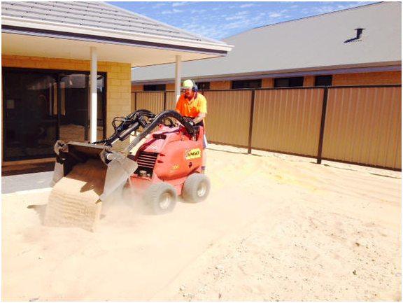 dingo excavator limited narrow accress Perth