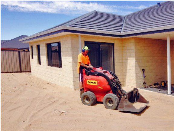 Excavating your new block perth