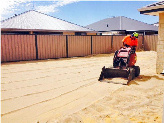 Dingo excavation earth moving Perth