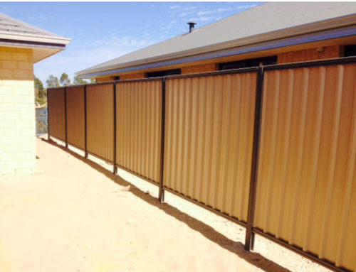 Fence Plinths for under Colorbond fence (Timber style fence plinths)