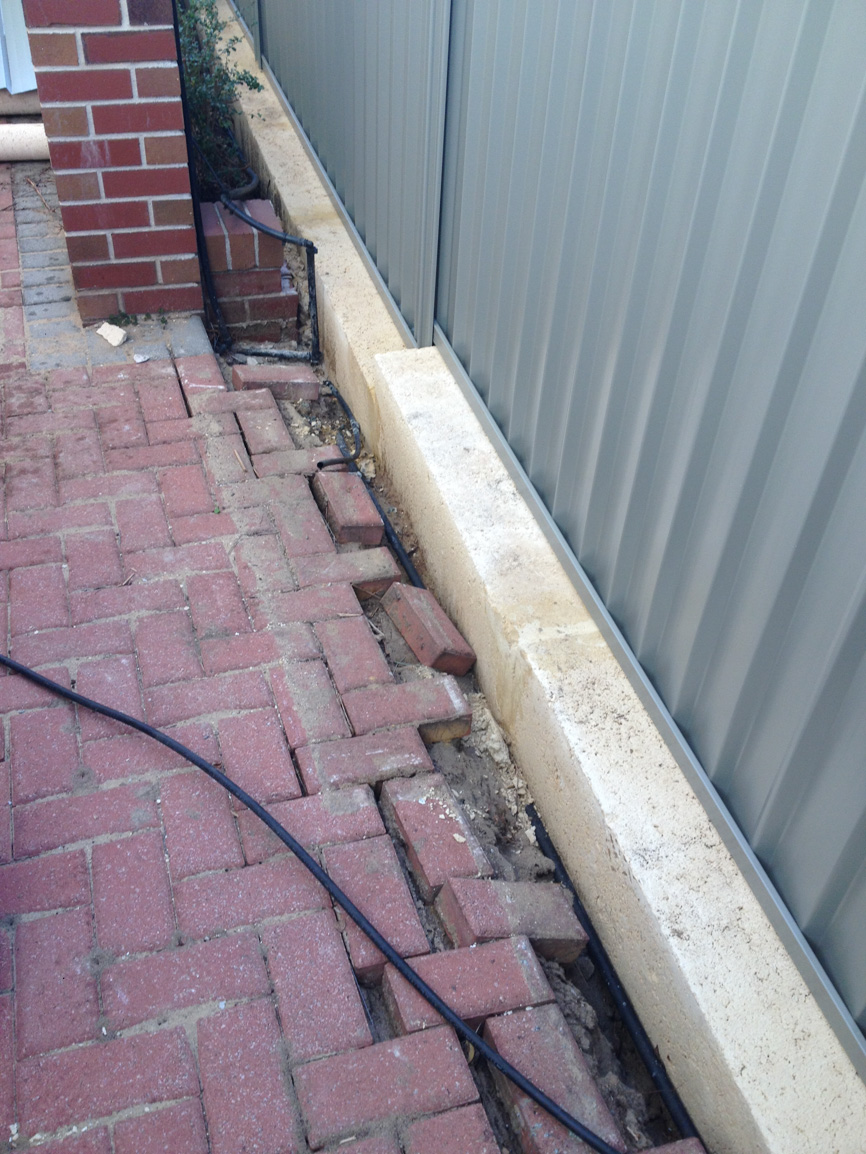 brick paving contractors and installers Perth- before
